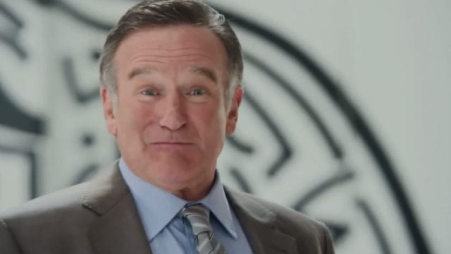 Robin Williams als Werbeagenturchef