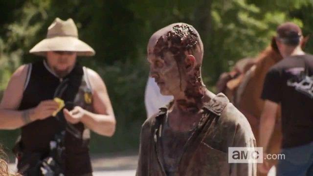 TWD Cast Behind The Scene Season 4