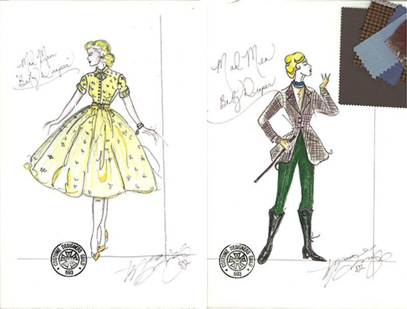 Kostümdesign von Mad Men