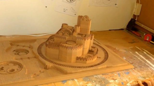 Game of Thrones Castle nachgebaut