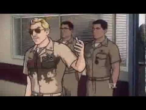 """Archer"" in der Danger Zone als ""Top Gun""-Parodie"