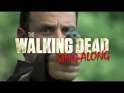 """The Walking Dead sing den """"Monster Mash"""""""