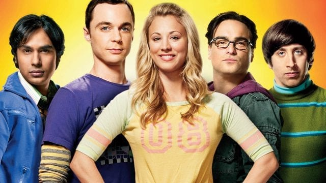 Big Bang Theory mit Final Fantasy Lachern