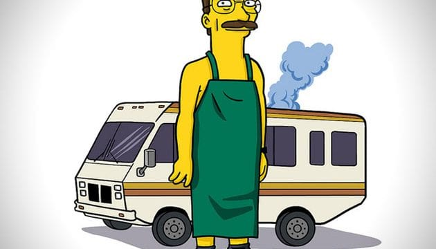 Simpsonized Breaking Bad-Charaktere