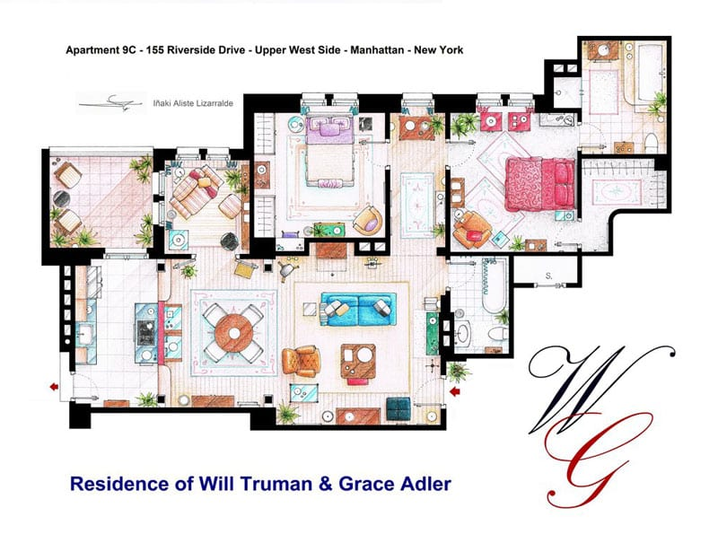 apartment_floor-plan-of_will_truman_and_grace_adler_by_inaki-aliste-lizarralde-nikneuk