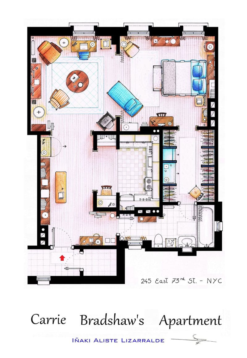 carrie_bradshaw_apartment_floor-plan-from_sex_and_the_city_by_inaki-aliste-lizarralde-nikneuk