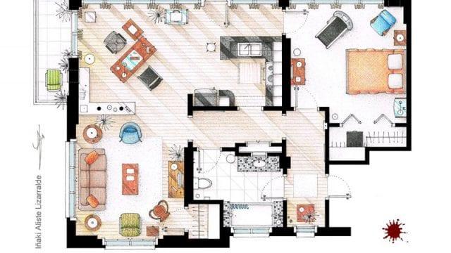 Grundrisse von Serienwohnungen