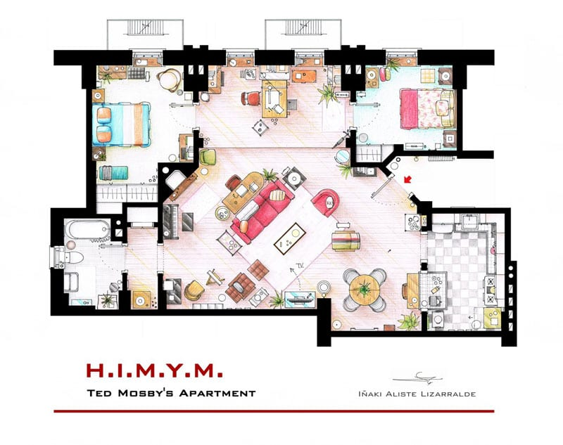 ted_mosby_apartment_floor-plan-from_himym_by_inaki-aliste-lizarralde-nikneuk