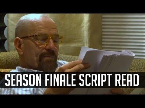 Breaking Bad: Wie Aaron Paul und Bryan Cranston die letzten Seiten des Scripts der Serie zum ersten Mal lasen