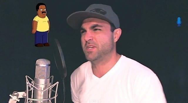 Beatboxing mit Family Guy-Stimmen