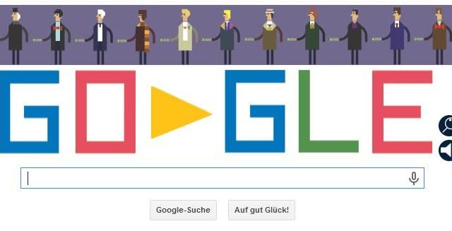 Google ist im Doctor Who Fieber
