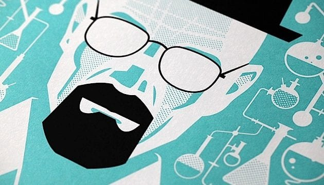 Heisenberg-Illustrationsposter