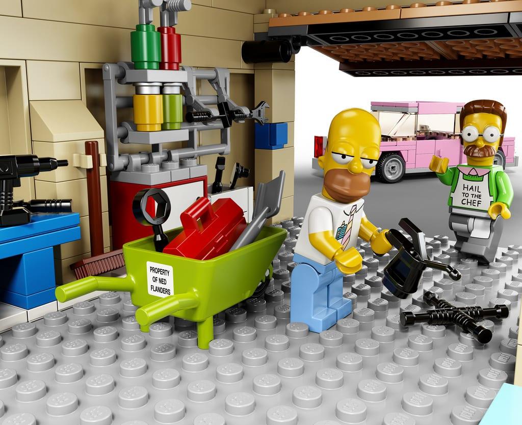Neue Details zum Simpsons-LEGO-Haus