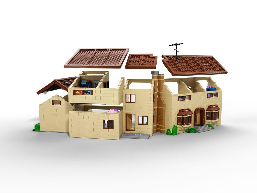 Neue details zum simpsons lego haus ihr wollt sie doch for Lego modernes haus