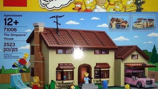 LEGO Simpsons-Haus