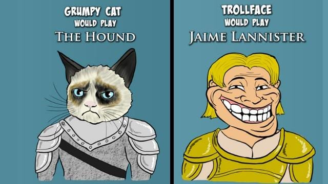 Game of Thrones Charaktere als Memes