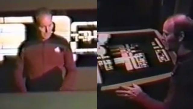 Fans brechen bei CBS ein und probieren die Star Trek TNG Kulissen aus
