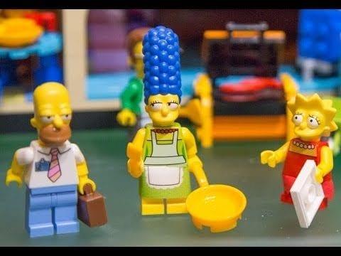 10 Stunden für das Lego Simpsons Haus