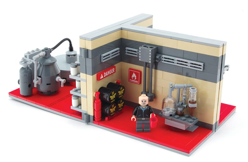 breaking bad minifigs lego figuren aus alberquerque. Black Bedroom Furniture Sets. Home Design Ideas