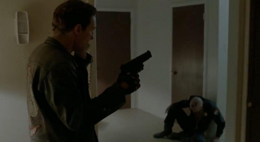 True Detective Tracking Shot