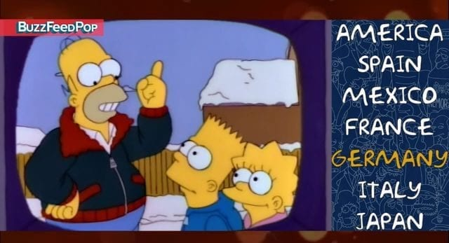 Wie die Simpsons in anderen Ländern klingen