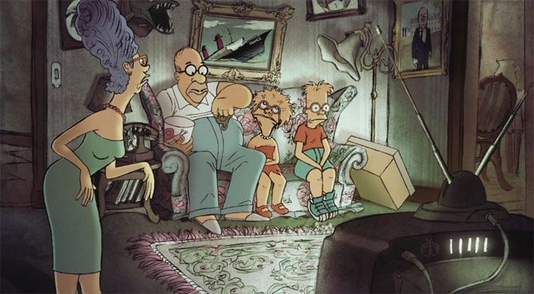 Couch-Gag von Sylvain Chomet
