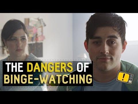 Serien am Stück schauen ist gefährlich