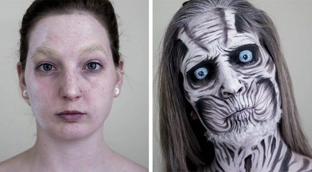 White Walker Make-Up