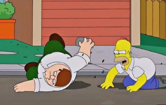 Der Simpsons Family Guy Crossover kommt