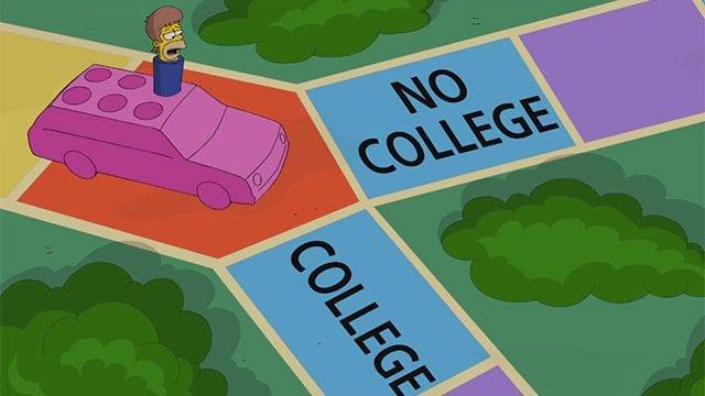 Simpsons Spiel des Lebens