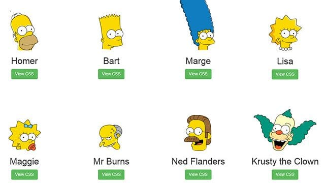 CSSimpsons