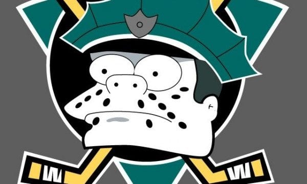 Simpsonized NHL-Logos