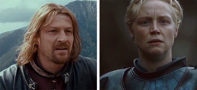 Brienne vs. Boromir