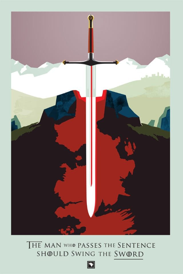 Beautiful Deaths in Game of Thrones