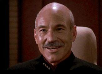 Picard mit Bart