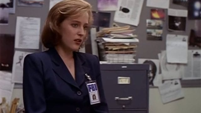 Scully really likes Science