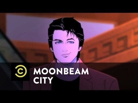 80er Synthie-Pop-Trailer zu 'Moonbeam City'