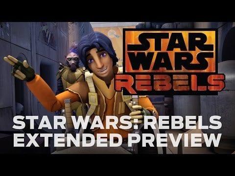 Die ersten 7 Minuten aus Star Wars Rebels