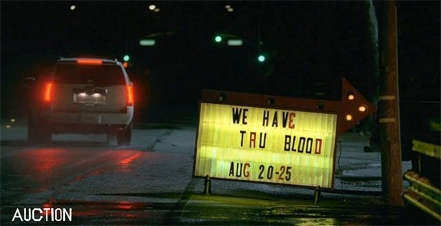 Ersteigert True Blood-Requisiten
