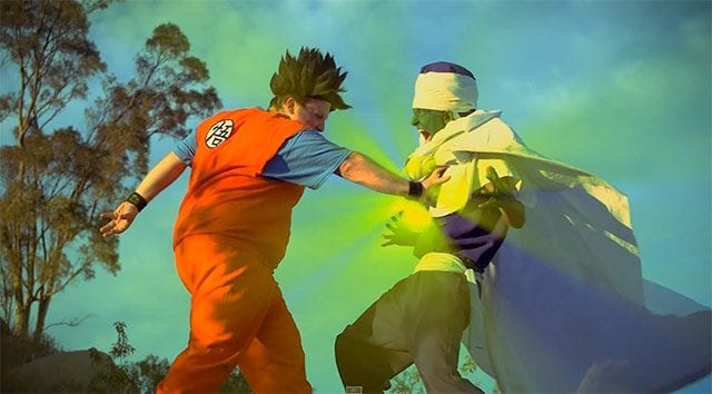 Dragon Ball Z in Real Life