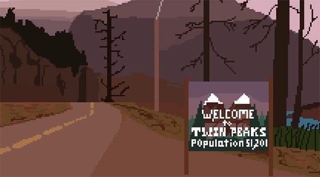 8-Bit Twin Peaks-Intro