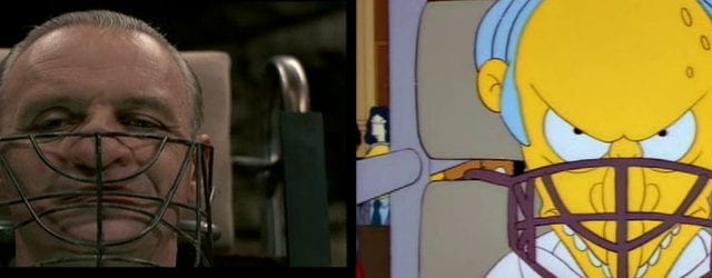 Die Simpsons und ihre Liebe zu Filmen