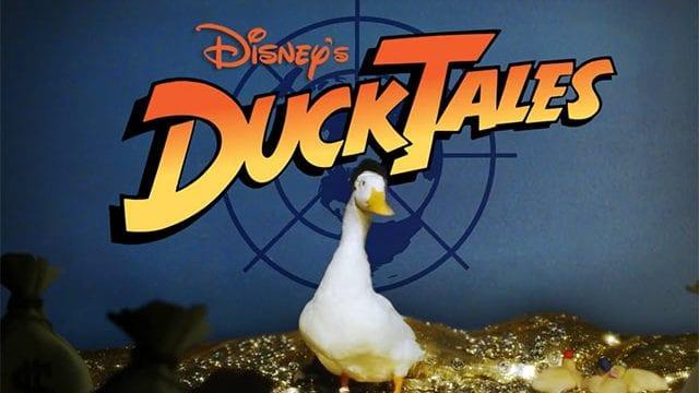DuckTales-Intro mit echten Enten