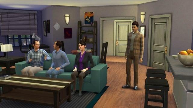 Seinfeld mit Sims 4 nachgebaut