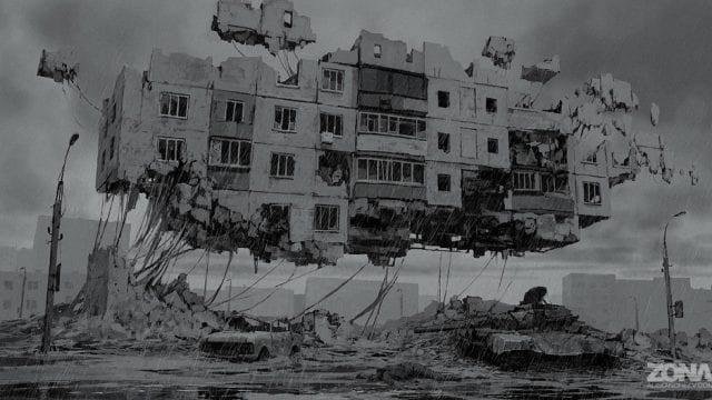 Faszinierende Artworks zur Sci-Fi Serie Zona