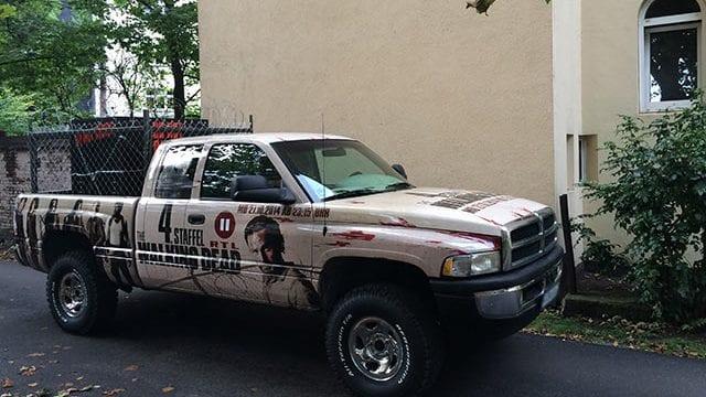 The Walking Dead Tour-Truck