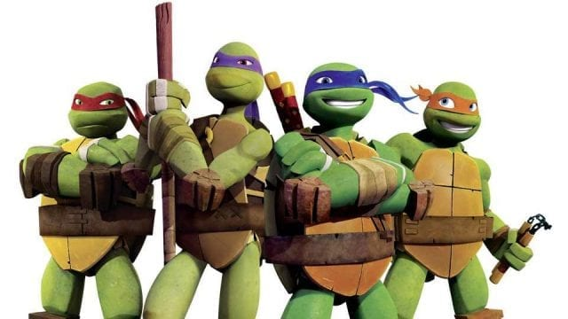 Teenage Mutant Ninja Turtles-Gewinnspiel