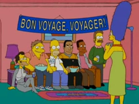 The_Simpsons_Voyager_Party