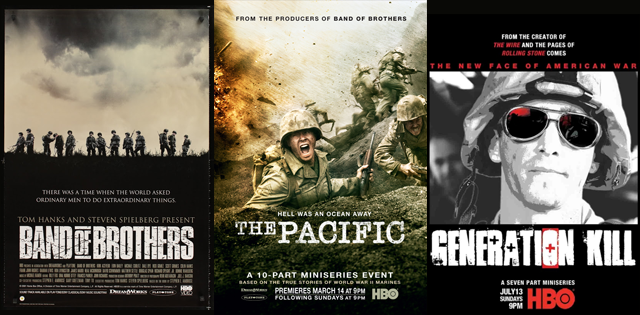 Entdecke HBOs War-Serien