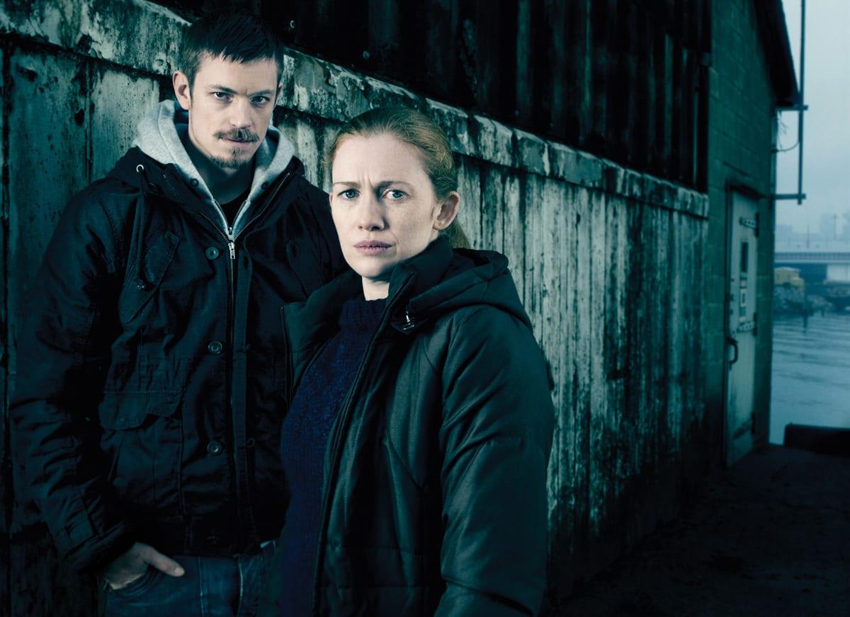 Stephen Holder und Sarah Linden